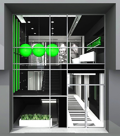 projekty wnętrza nowoczesnych biur