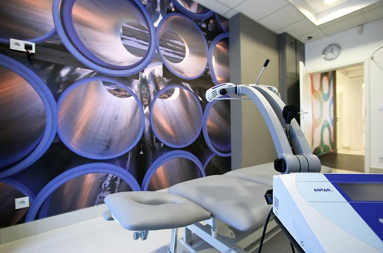 nowoczesne wnętrza gabinetów medycznych