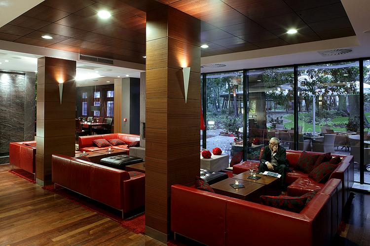 wnętrza restauracji hotelowych - projekty