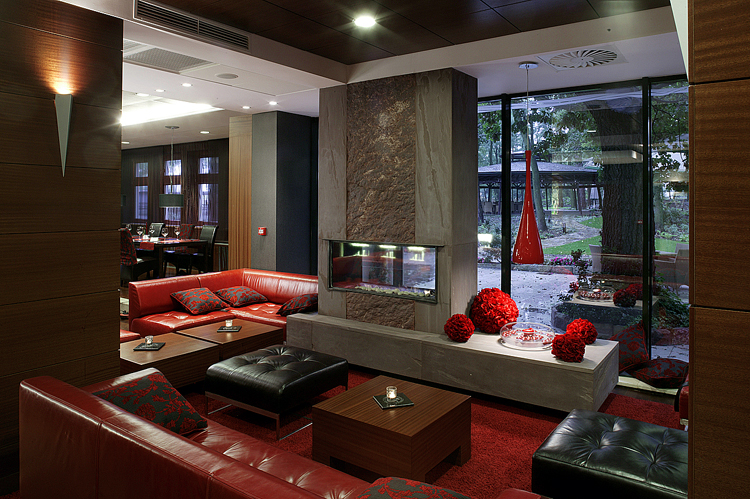 lobby bar w luksusowym hotelu