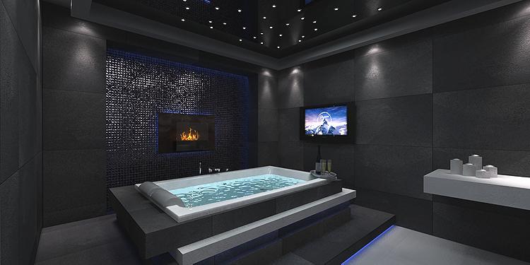luksusowe wnętrze spa