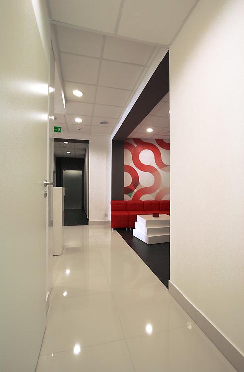 nowoczesne wnętrze kliniki