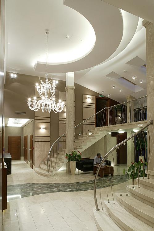luksusowe wnętrze hotelowe