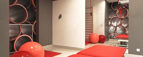 luksusowe wnętrze medyczne - projekt wnętrza