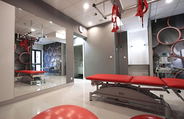 nowoczesna aranżacja wnętrza kliniki