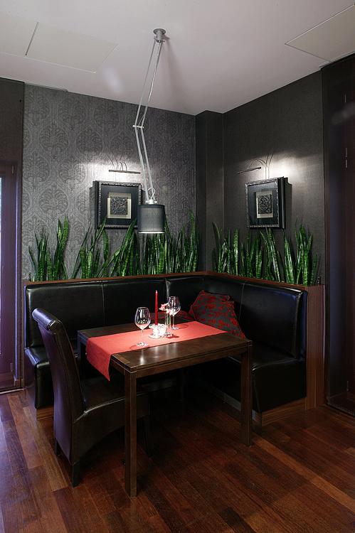 projektowanie wnętrza hotelu - restauracja
