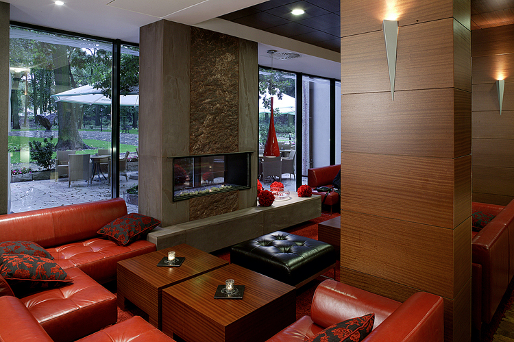 projektowanie wnętrza hotelu - bar