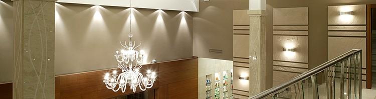 recepcja w nowoczesnym hotelu - projekty wnętrza