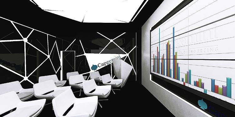 designerskie wnętrza biurowe - projekt