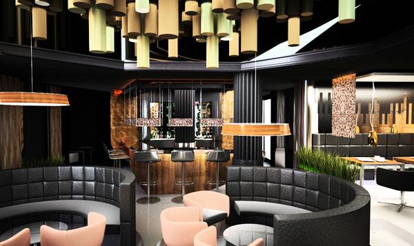 luksusowe wnętrza restauracji