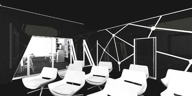 projekt wnętrza nowoczesnego biura