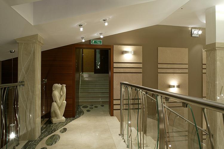 nowoczesne wnętrza hotelowe - architektura wnętrz
