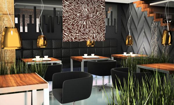projektanci wnętrza restauracji