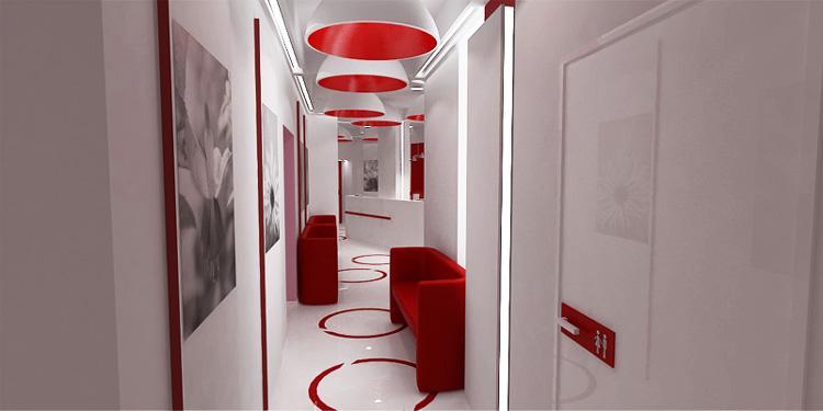 luksusowe wnętrza kliniki