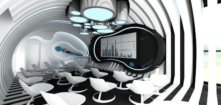 nowoczesne wnętrze innovation room