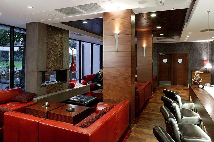 projekt wnętrza restauracji w hotelu