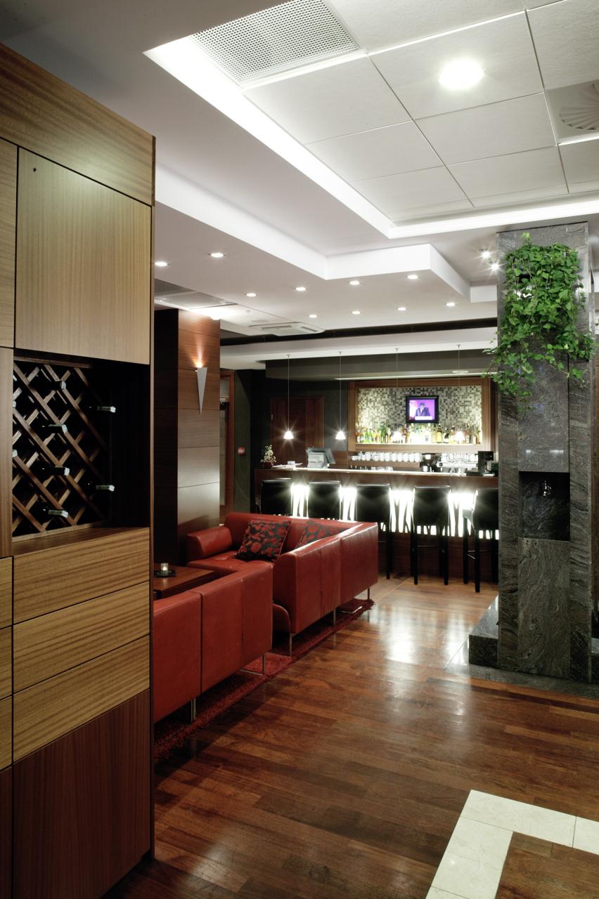 bar hotelowy - ekskluzywny projekt wnętrza