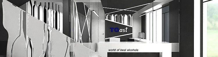 designerskie wnętrze hurtowi alkoholowej