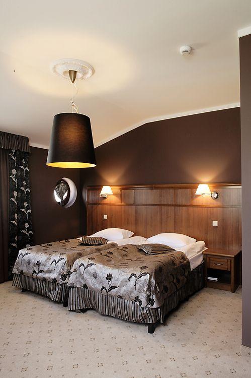 projekt wnętrza pokoju hotelowego