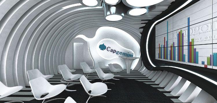 designerskie wnętrze presentation room