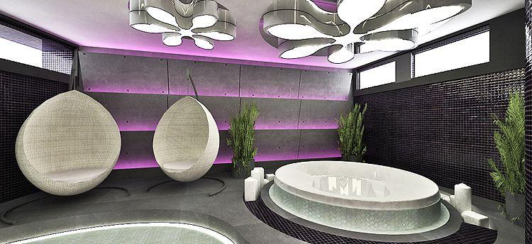 salon spa - projektowanie wnętrza