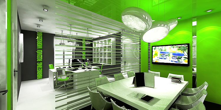 open space - biura i sala konferencyjna