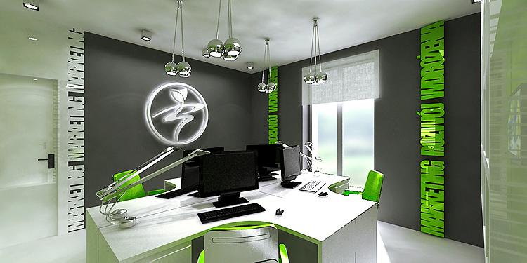 projektowanie wnętrza gabinetów