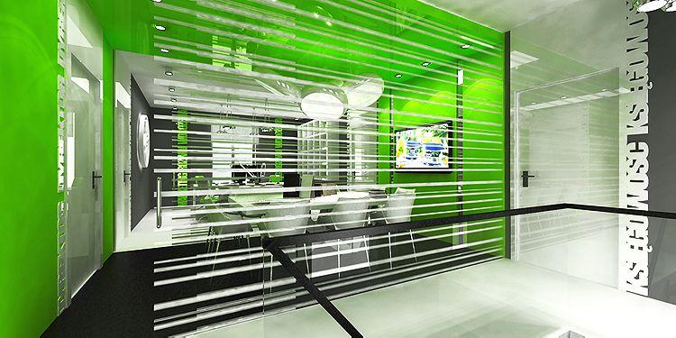 projektowanie wnętrz pomieszczeń biurowych