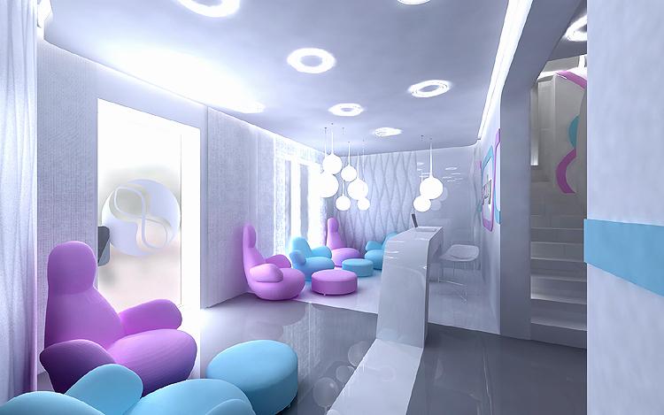 nowoczesne projektowanie wnętrz kliniki ginekologicznej