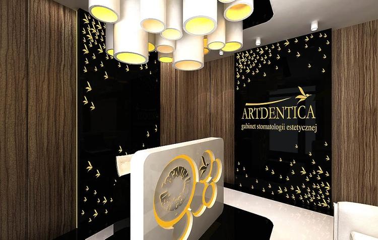 gabinet stomatologiczny klinika wnetrze projekt architektura aranzacja recpecja