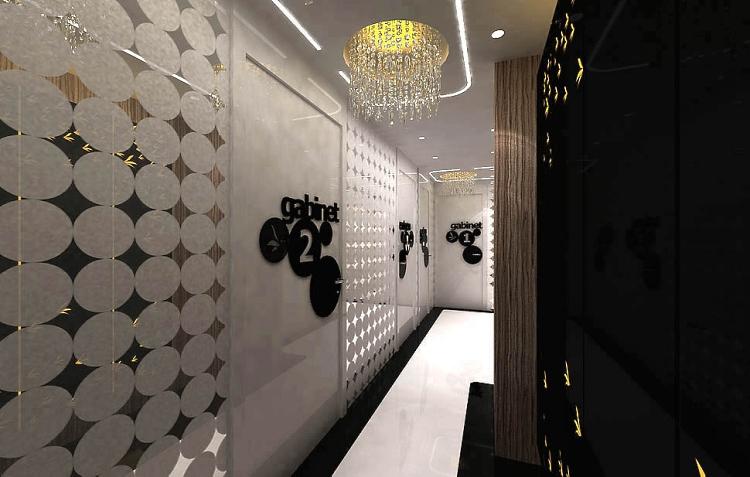 gabinet stomatologiczny nowoczesne wnetrze design architektura projekty aranzacja