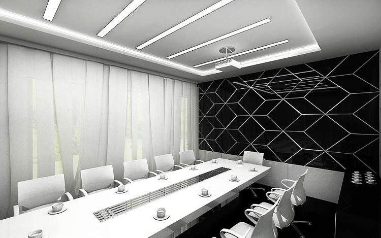 wnetrze biura design projekt sala konferencyjna