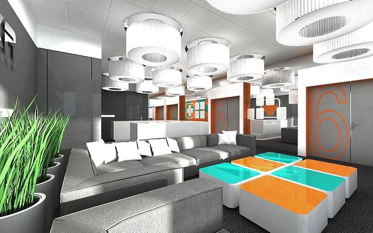 aranżacja wnętrz biurowych design projekt
