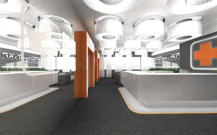 aranzacja wnętrz biurowych design projekt