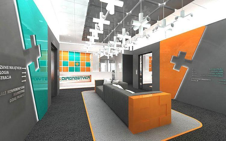 design wnętrza biura nowoczesne projekty aranżacje