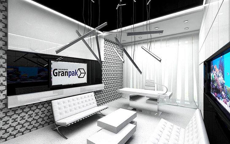 projektowanie nowoczesnych wnetrz biurowych