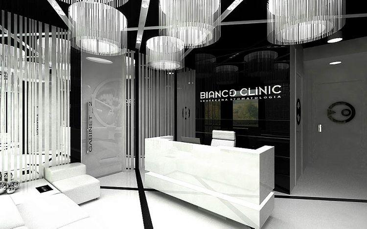 gabinet stomatologiczny klinika nowoczesny elegancki styl