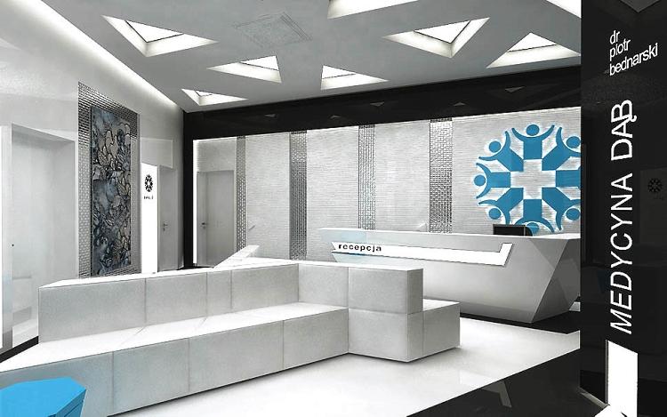 projekty wnetrz medycznych klinika szpital Kielce