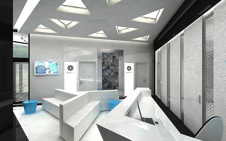 projektowanie wnetrz medycznych architektura katowice