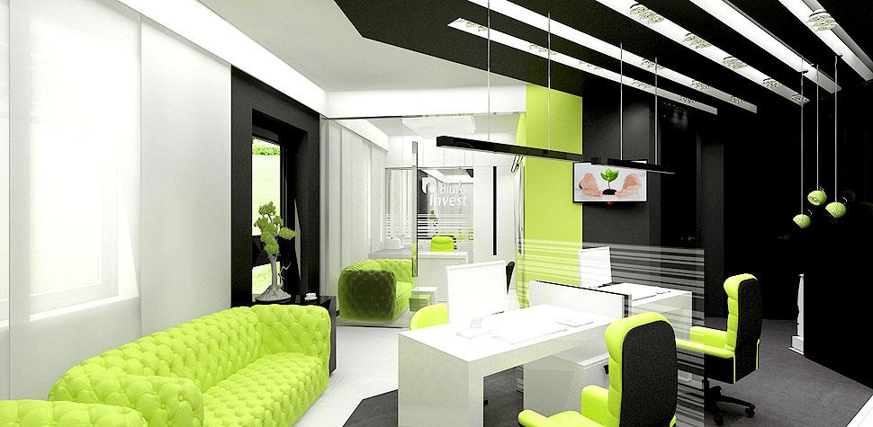 wnetrza typu open space biuro