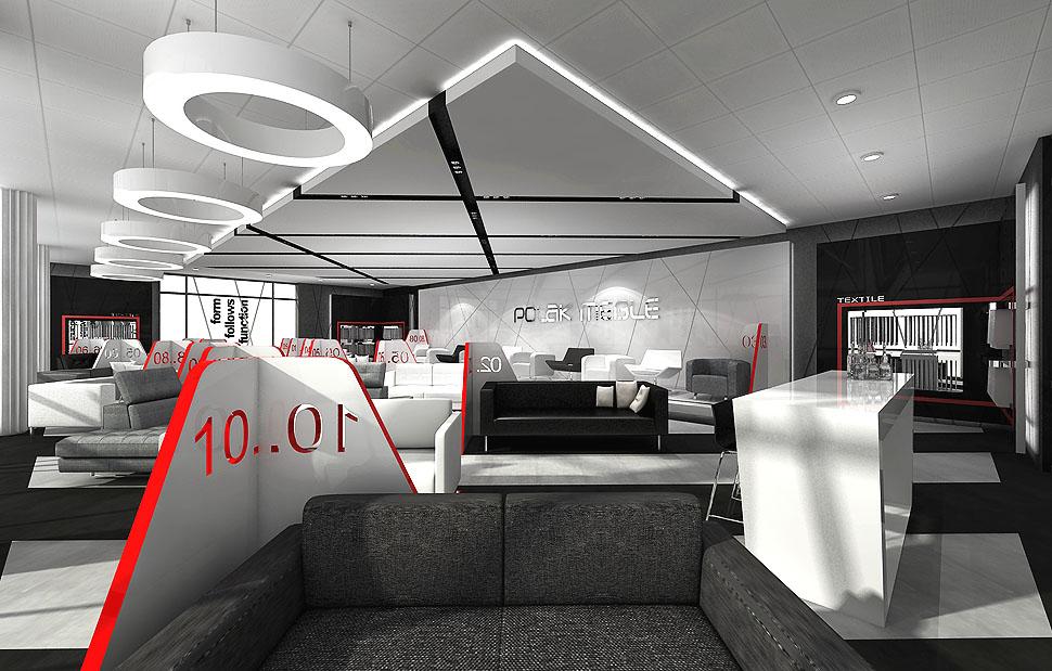 salony sprzedazy projekty