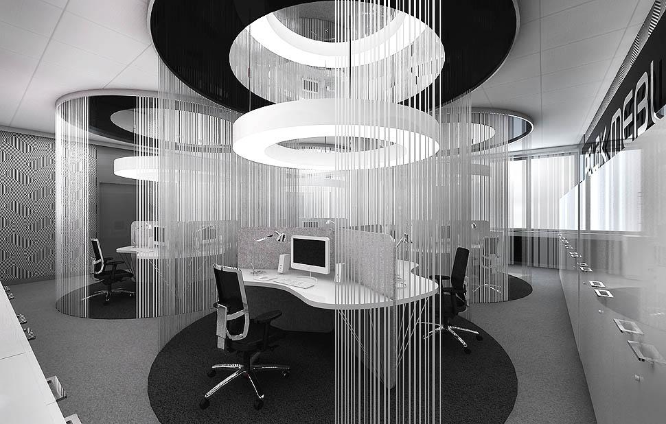 projektowanie wnetrz biura open space