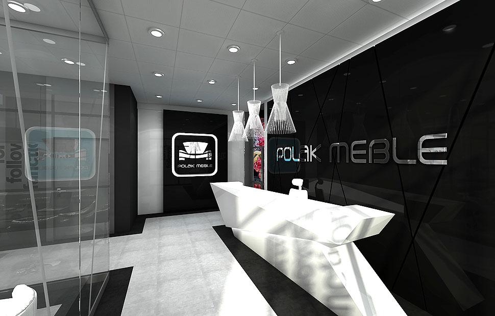 projektowanie wnetrza salon meblowy